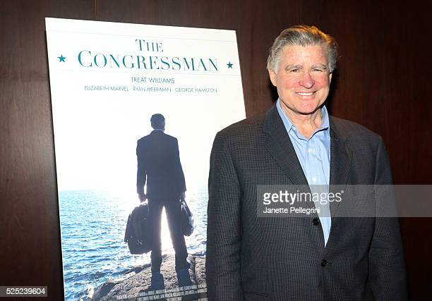 Actor Treat Williams attends the New York Screening of The Congressman at the Bryant Park Hotel on April 27 2016 in New York City