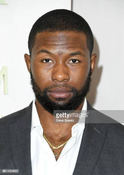 Actor Trevante Rhodes at Bottega Veneta Hosts Hammer Museum Gala In The Garden on October 14 2017 in Westwood California