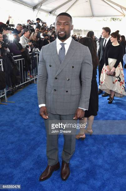 Actor Trevante Rhodes attends the 2017 Film Independent Spirit Awards at Santa Monica Pier on February 25 2017 in Santa Monica California