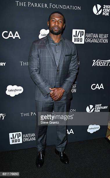 Actor Trevante Rhodes attends the 6th Annual Sean Penn Friends HAITI RISING Gala Benefiting J/P Haitian Relief Organization at Montage Beverly Hills...