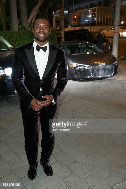 Actor Trevante Rhodes attends The Weinstein Company Netflix's SAG 2017 After Party presented by Audi at Sunset Tower Hotel on January 29 2017 in West...