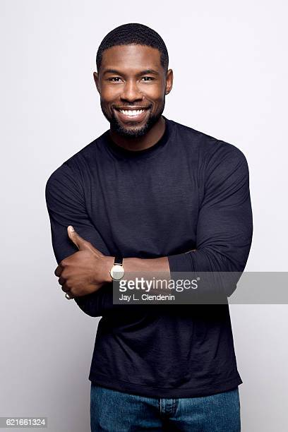 Actor Trevante Rhodes from the film 'Moonlight' poses for a portraits at the Toronto International Film Festival for Los Angeles Times on September 9...