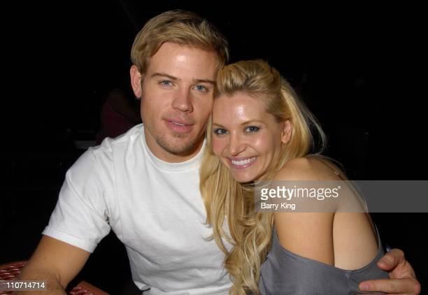 Actor Trevor Donovan and actress Sonia Rockwell visit Knott's Scary Farm's 35th Annual Halloween Haunt held at Knotts Berry Farm on October 24 2007...