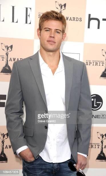 Actor Trevor Donovan arrives at the 2011 Film Independent Spirit Awards at Santa Monica Beach on February 26 2011 in Santa Monica California