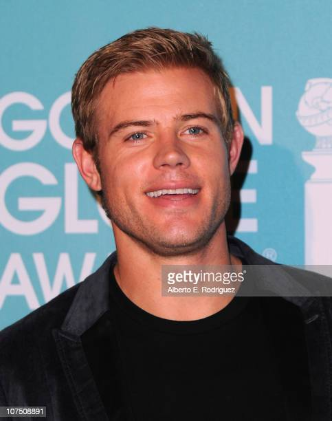 Actor Trevor Donovan arrives at The Hollywood Foreign Press Associationand InStyle's Miss Golden Globe 2011 introduction on December 9 2010 in West...