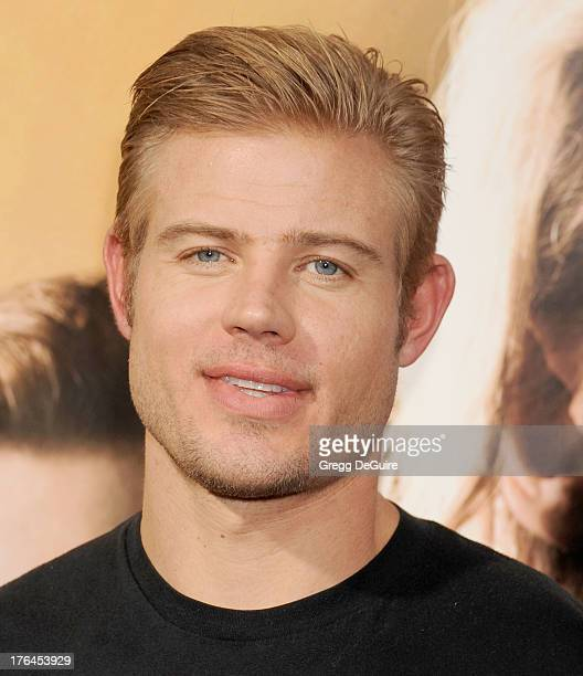 """Actor Trevor Donovan arrives at the Los Angeles premiere of """"The Mortal Instruments: City Of Bones"""" at ArcLight Cinemas Cinerama Dome on August 12,..."""
