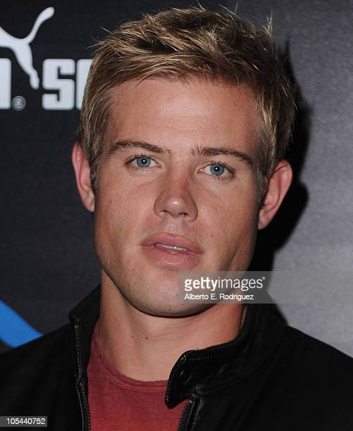 Actor Trevor Donovan arrives to the launch of the Puma Social Club LA on October 13 2010 in Los Angeles California