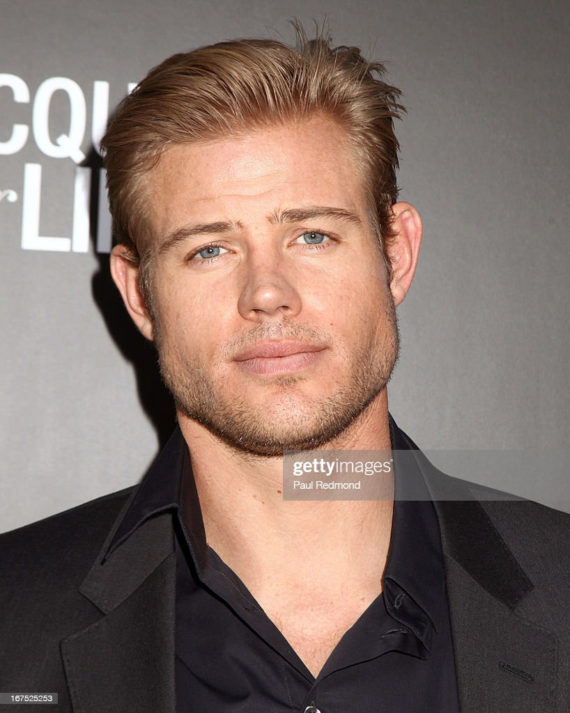 Actor Trevor Donovan attends Giorgio Armani party during Paris Photo LA - Opening Night at Paramount Studios on April 25, 2013 in Hollywood, California.