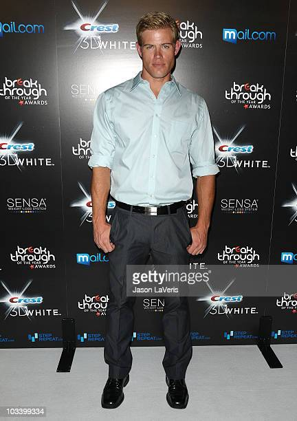 Actor Trevor Donovan attends the 2010 Breakthrough of the Year Awards at Pacific Design Center on August 15 2010 in West Hollywood California