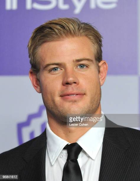Actor Trevor Donovan attends the InStyle and Warner Bros 67th Annual Golden Globes post party held at the Oasis Courtyard at The Beverly Hilton Hotel...