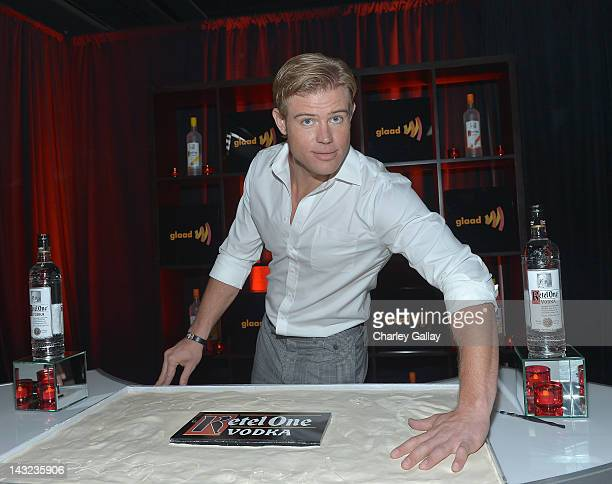 Actor Trevor Donovan attends the Ketel One Walk of Change at the 23rd Annual GLAAD Media Awards Westin Bonaventure Hotel on April 21 2012 in Los...