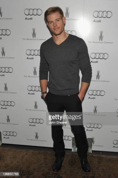 Actor Trevor Donovan attends the party hosted by the Weinstein Company and Audi to Celebrate Awards Season at Chateau Marmont on January 11 2012 in...