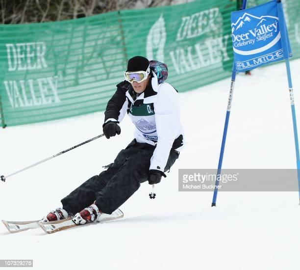 Actor Trevor Donovan competes in the 19th Annual Deer Valley Celebrity Skifest the Deer Valley Resort on December 4 2010 in Salt Lake City Utah