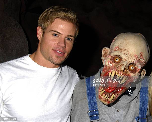 Actor Trevor Donovan visits Knott's Scary Farm's 35th Annual Halloween Haunt held at Knotts Berry Farm on October 24 2007 in Buena Park California