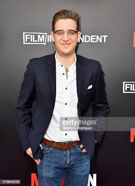 Actor Trevor Einhorn attends AMC Film Independent and Lionsgate Present 'Mad Men' Live Read at The Theatre at Ace Hotel Downtown LA on May 17 2015 in...