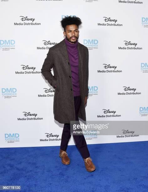 Actor Trevor Jackson arrives at the Disney/ABC International Upfronts at the Walt Disney Studio Lot on May 20 2018 in Burbank California