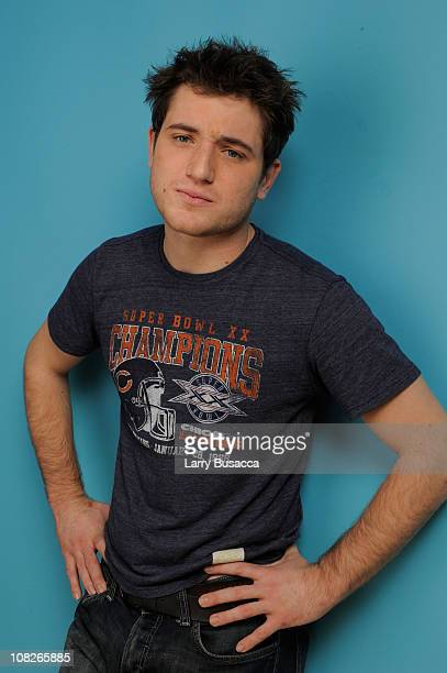 Actor Trevor Morgan poses for a portrait during the 2011 Sundance Film Festival at The Samsung Galaxy Tab Lift on January 23, 2011 in Park City, Utah.