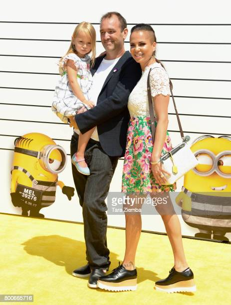 Actor Trey Parker, Boogie Tillmon, and Betty Parker attend the premiere of Universal Pictures and Illumination Entertainment's 'Despicable Me 3' at...