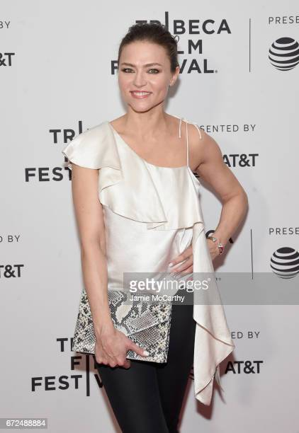 Actor Trieste Kelly Dunn attends the 'Devil's Gate' Premiere during the 2017 Tribeca Film Festival at Cinepolis Chelsea on April 24 2017 in New York...