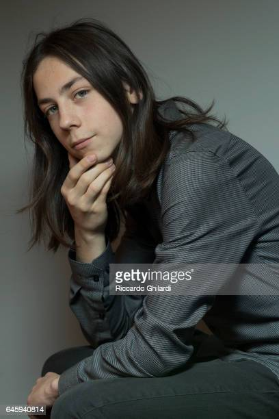 Actor Tristan Gloebel is photographed for Self Assignment on February 11 2017 in Berlin Germany