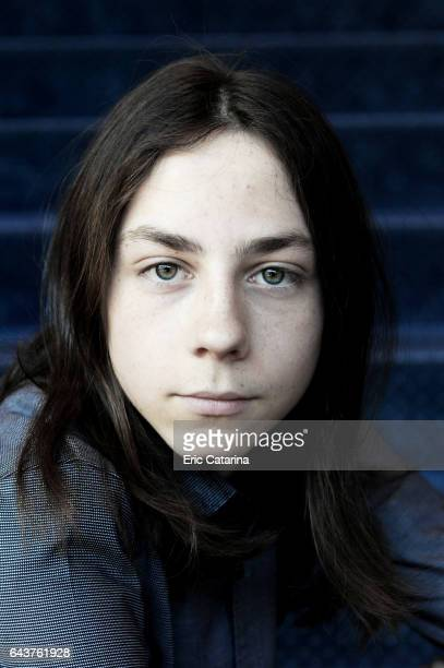 Actor Tristan Goebel is photographed for Self Assignment on February 14 2017 in Berlin Germany