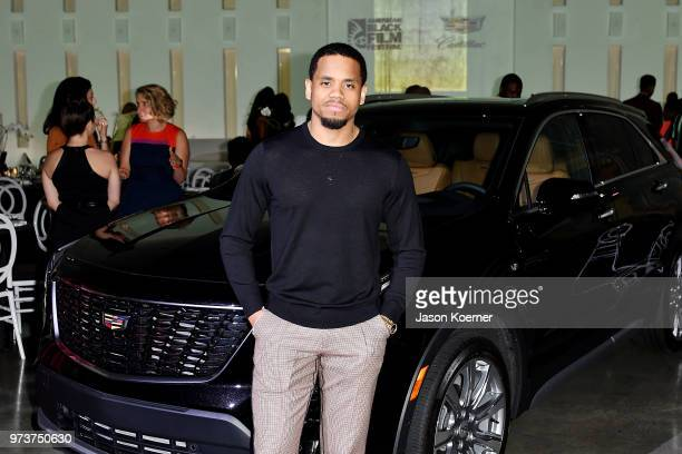 Actor Tristan 'Mack' Wilds attends Cadillac Welcome Luncheon At ABFF Black Hollywood Now at The Temple House on June 13 2018 in Miami Beach Florida