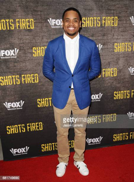 Actor Tristan Mack Wilds attends the 'Shots Fired' FYC event at Saban Media Center on May 10 2017 in North Hollywood California