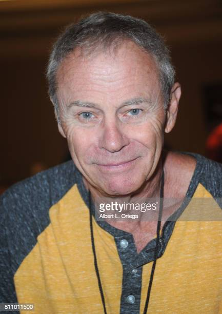 Actor Tristan Rogers signs autographs at The Hollywood Show held at Westin LAX Hotel on July 8 2017 in Los Angeles California