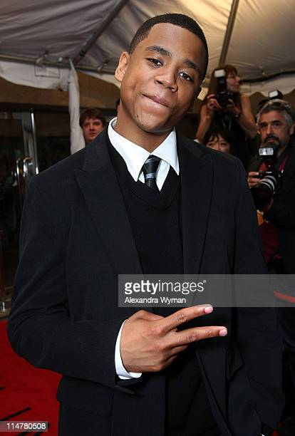 Actor Tristan Wilds arrives at Fox Searchlight's 'The Secret Life Of Bees' premiere held at Roy Thomson Hall during the 2008 Toronto International...