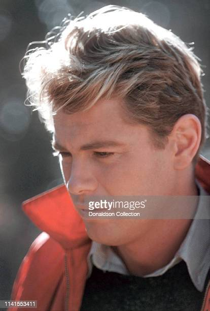 Actor Troy Donahue poses for a portrait in 1960 n