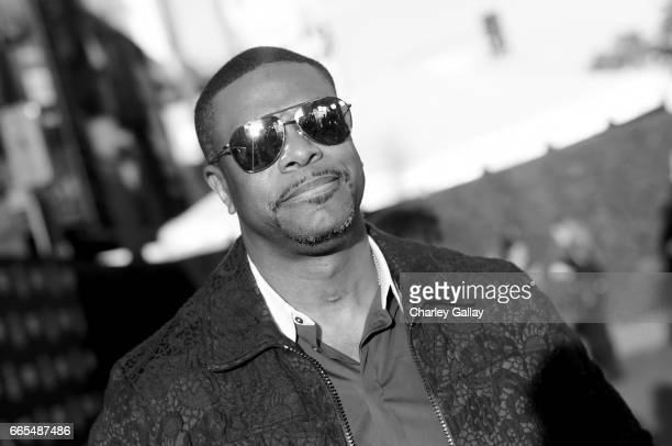 Actor Tucker attends the 50th anniversary screening of In the Heat of the Night during the 2017 TCM Classic Film Festival on April 6 2017 in Los...
