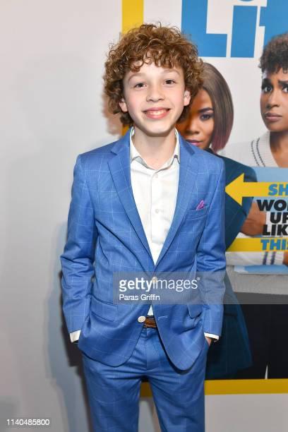 Actor Tucker Meek attends Little Atlanta red carpet screening at Regal Atlantic Station on April 04 2019 in Atlanta Georgia