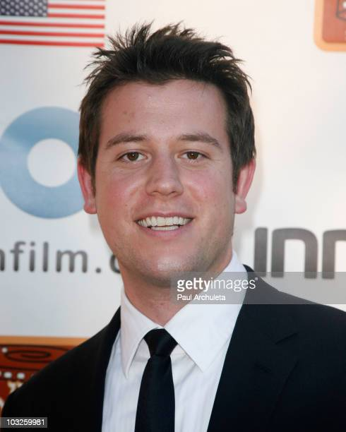 Actor / TV Personality Ben Lyons arrives at the 6th annual HollyShorts film festival opening night celebration at Laemmle Sunset 5 Theatre on August...