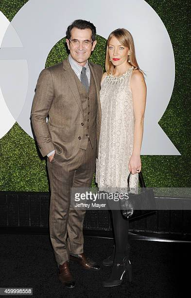 Actor Ty Burrell and Holly Burrell arrive at the 2014 GQ Men Of The Year Party at Chateau Marmont on December 4 2014 in Los Angeles California
