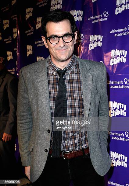 """Actor Ty Burrell arrives at """"Hilarity For Charity"""" To Benefit The Alzheimer's Association at Vibiana on January 13, 2012 in Los Angeles, California."""
