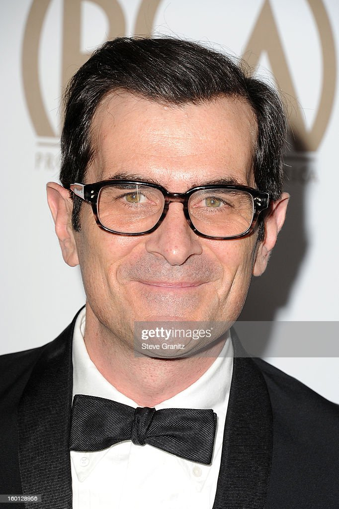 Actor Ty Burrell arrives at the 24th Annual Producers Guild Awards held at The Beverly Hilton Hotel on January 26, 2013 in Beverly Hills, California.