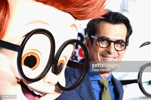 """Actor Ty Burrell arrives at the Premiere of Twentieth Century Fox and DreamWorks Animation's """"Mr. Peabody & Sherman"""" at Regency Village Theatre on..."""