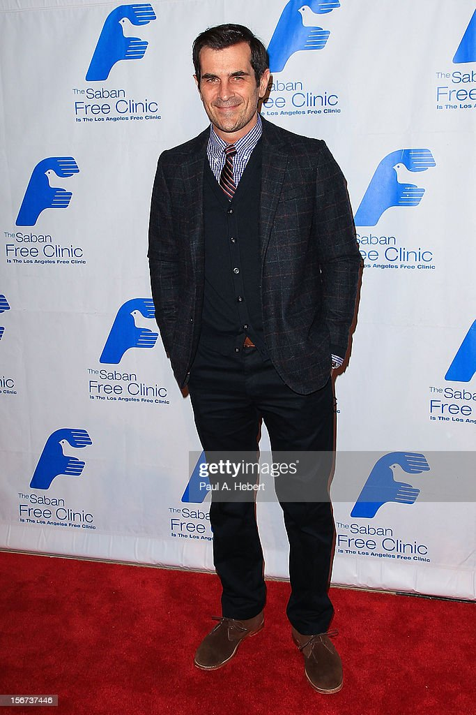 Actor Ty Burrell arrives at The Saban Free Clinic's Gala Honoring ABC Entertainment Group President Paul Lee and Bob Broder at The Beverly Hilton Hotel on November 19, 2012 in Beverly Hills, California.