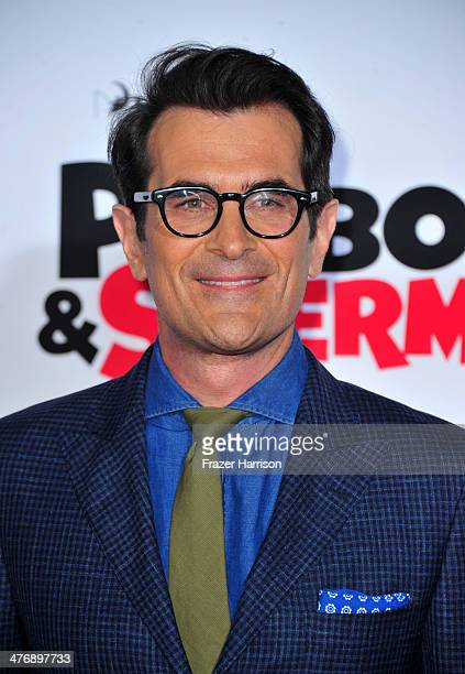 """Actor Ty Burrell attends the premiere of Twentieth Century Fox and DreamWorks Animation's """"Mr. Peabody & Sherman"""" at Regency Village Theatre on March..."""