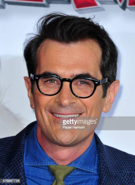 Actor Ty Burrell attends the premiere of Twentieth Century Fox and DreamWorks Animation's Mr Peabody Sherman at Regency Village Theatre on March 5...