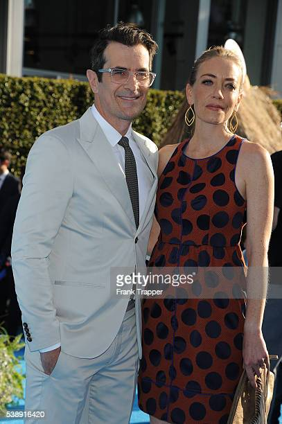 Actor Ty Burrell Holly Anne Brown attend the premiere of Disney's Finding Dory held at the El Capitan Theater on June 8 2016 in Hollywood California