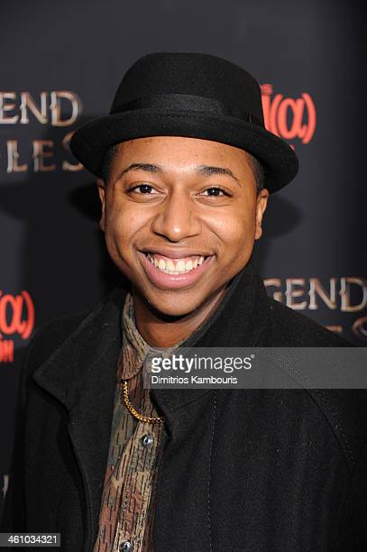 Actor Ty Hickson attends the The Legend Of Hercules premiere at the Crosby Street Hotel on January 6 2014 in New York City