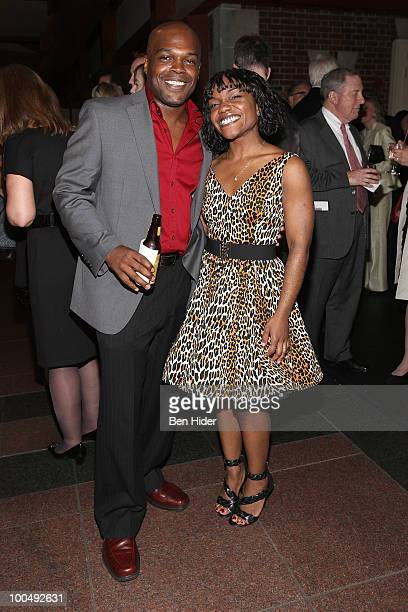 Actor Ty Jones and Actress Kenita Miller attend the Urban Stages' 26th Annual Benefit Celebrating The Harlem Renaissance Then and Now at Loeb Central...