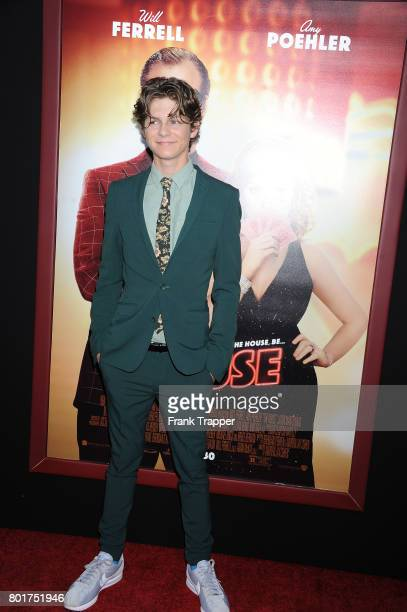 Actor Ty Simkins attends the Los Angeles Premiere of Warner Bros Pictures' 'The House' held at TCL Chinese Theatre on June 26 2017 in Hollywood...