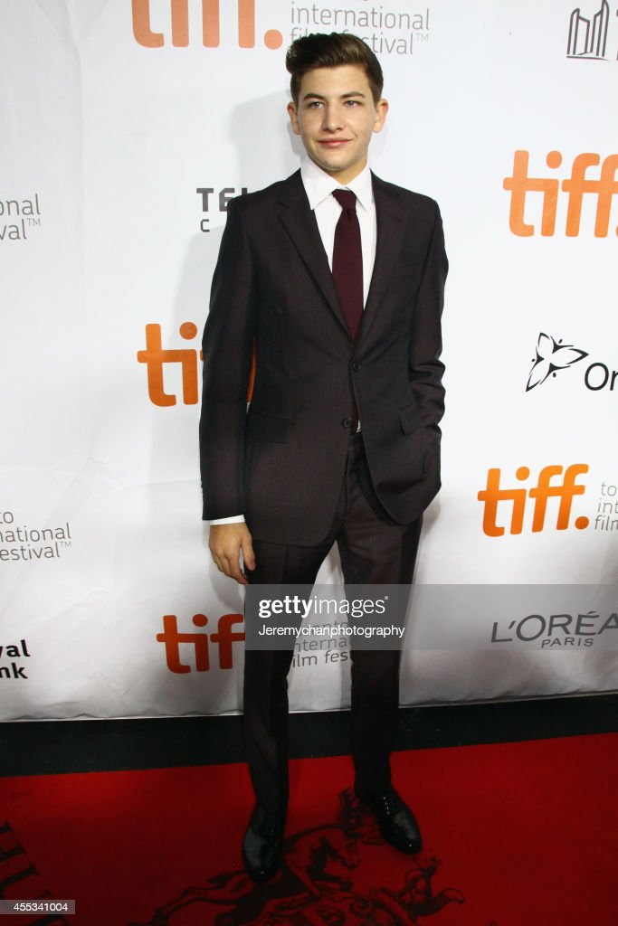 Actor Tye Sheridan arrives at 'The Forger' Premiere during the 2014 Toronto International Film Festival held at Roy Thomson Hall on September 12, 2014 in Toronto, Canada.