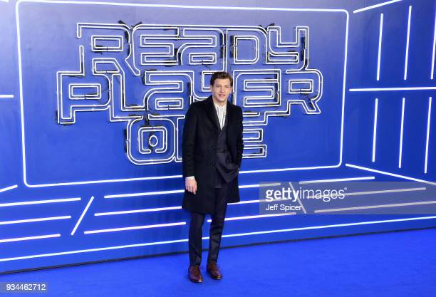Actor Tye Sheridan attends the European Premiere of 'Ready Player One' at Vue West End on March 19 2018 in London England
