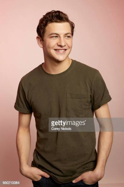 Actor Tye Sheridan from the film 'Friday's Child' poses for a portrait in the Getty Images Portrait Studio Powered by Pizza Hut at the 2018 SXSW Film...