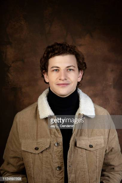 Actor Tye Sheridan from 'The Mountain' is photographed for Los Angeles Times on January 28 2019 at the 2019 Sundance Film Festival in Salt Lake City...