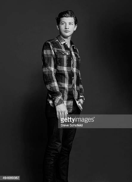 Actor Tye Sheridan of 'Scouts Guide to the Zombie Apocalypse' for Wonderwall on September 14 2015 in Los Angeles California PUBLISHED IMAGE