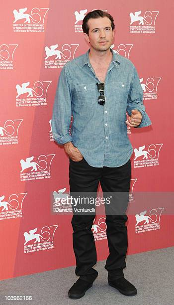 Actor Tygh Runyan attends the Road To Nowhere photocall at the Palazzo del Casino during the 67th Venice International Film Festival on September 10...